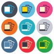 ������, ������: Photo frame template icons