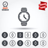 Wrist Watch sign icons — Stock Vector