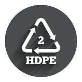 Pe-hd 2 signaal pictogram. — Stockvector