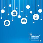 Sale speech bubble icon. — Stock Vector