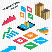 Main page web navigation. — Stock Vector