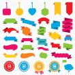 Web stickers, tags and banners — Stock Vector #72599643