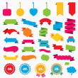 Sale discount icons. — Stock Vector #73559565