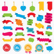 Sale discount icons. — Stock Vector #74758183