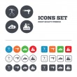 Hotel services icons — Stock Vector #74759159