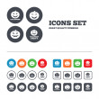 Halloween party icons. — Stock Vector #75436863
