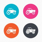 Agricultural industry transport. — Stock Vector