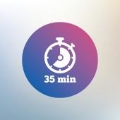 Icono de señal Timer. — Vector de stock