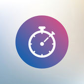 Timer sign icon. — Stock Vector