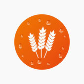 Agricultural sign icon. — Stock Vector