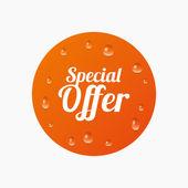Icono de signo de oferta especial. — Vector de stock