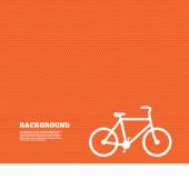 Bicycle sign icon. — Stock Vector
