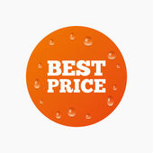 Best price sign icon. — Stock Vector
