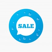 Sale sign icon. — Stock Vector