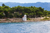 Brac Island lighthouse — Stockfoto