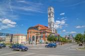 The Cathedral of Blessed Mother Teresa in Pristina — Stock Photo