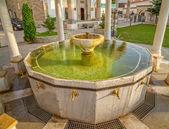 Ablution pool in Fatih Mosque, Pristina — Stock Photo