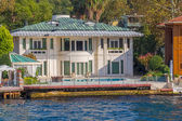 Kanlica Istanbul - houses on the shore — Stock Photo