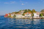 Kanlica Istanbul - view from the Bosphorus — Stock Photo