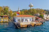 Kanlica port Istanbul — Stock Photo