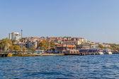 Besiktas Iskelesi Istanbul — Stock Photo