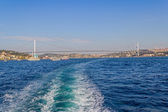 First Bosphorus Bridge — Stock Photo
