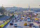 Istanbul Kennedy Avenue — Stock Photo