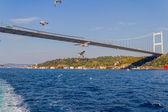 Istanbul Second bridge — Stock Photo