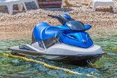 Blue jet ski scooter — Stock Photo