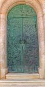 Grave door — Stock Photo