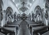 Supetar church interior — Stock Photo