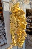 Dried sea sponges — Stock Photo