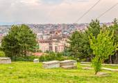 Jewish cemetery in Pristina — Stock Photo