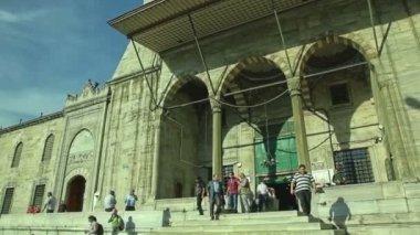 New Mosque Yeni Cami — Stock Video