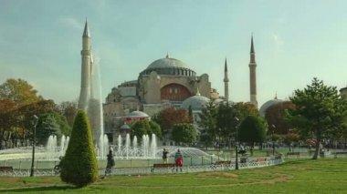 Ayasofya sophia istanbul — Stok video