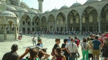 Blue mosque Istanbul — Stock Video