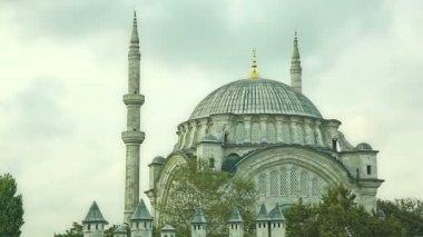 Nuruosmaniye Mosque Istanbul — Stock Video