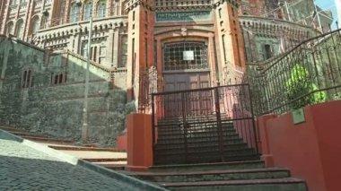 Phanar Greek Orthodox College in Istanbul — Stock Video