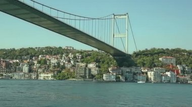 Istanbul Second bridge — Stock Video