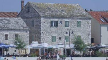 Primosten old town — Vídeo de stock