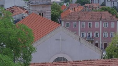 Church of Our Lady of Sinj — Stock Video