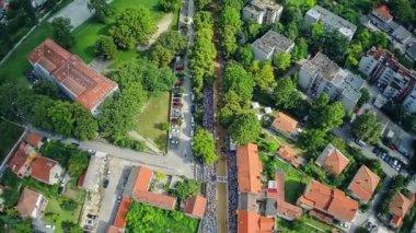 Alka procession in Sinj — Stock Video