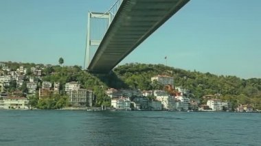 Istanbul Second bridge — Stock Video