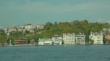 Houses and mansions in Istanbul — Stock Video