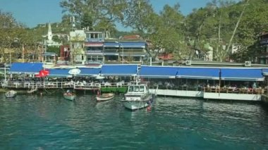 Anadolu Kavagi village — Stock Video