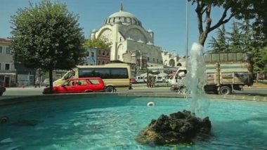 Mihrimah Sultan Mosque in Istanbul — Stock Video