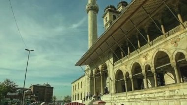 New Mosque Yeni Cami — Stock Video