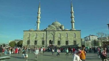 Nueva cami de Mezquita yeni — Vídeo de Stock