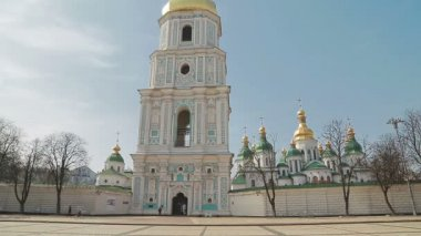 Saint Sophia Cathedral — Stock Video