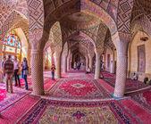 Nasir Al-Mulk Mosque in Shiraz, Iran — Stock Photo
